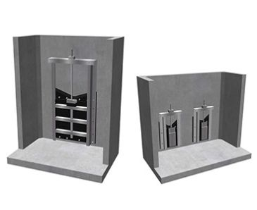 Precast Concrete Penstock Endwalls